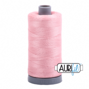 Aurifil 28 Cotton Thread - 2437 (Pale Pink)
